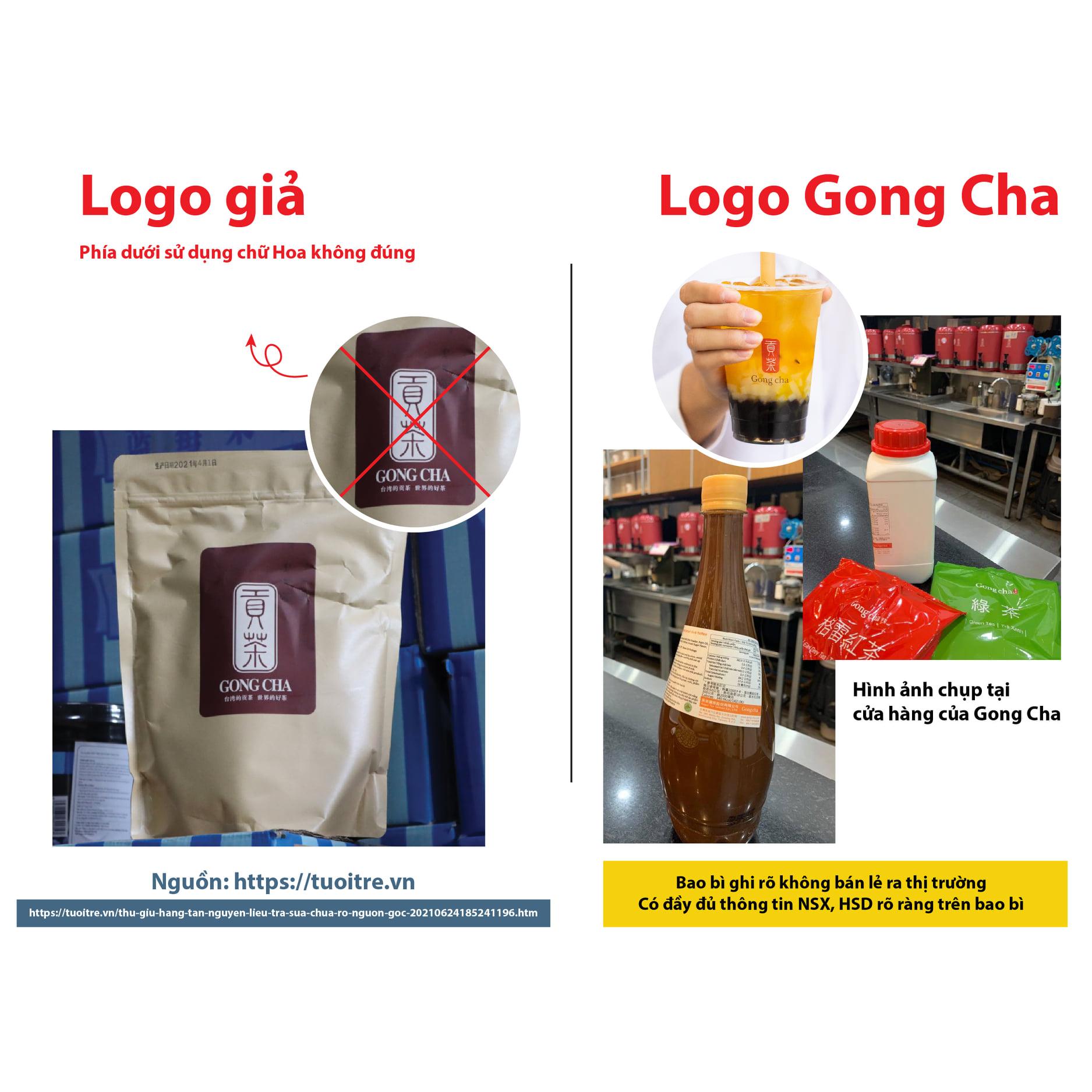 Gong Cha lên tiếng về vụ thu giữ hàng tấn nguyên liệu trà sữa bẩn, không rõ nguồn gốc - Ảnh 1.