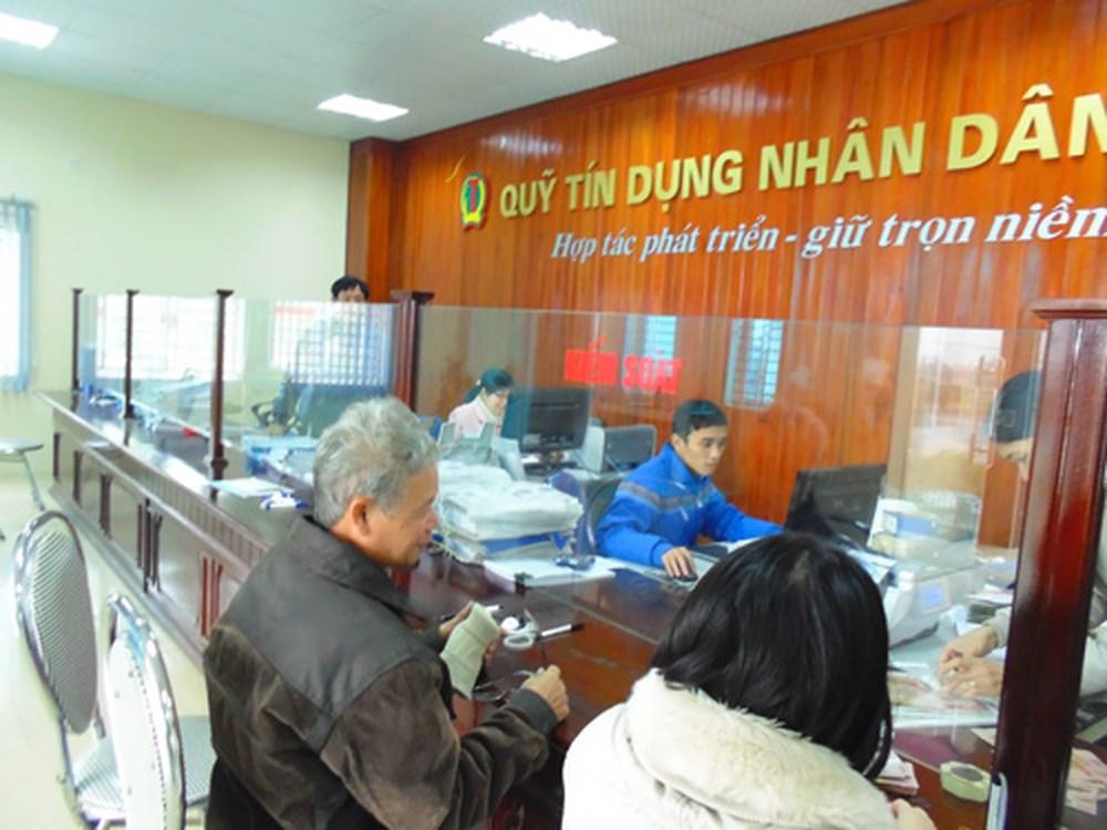 Sửa quy định xếp hạng quỹ tín dụng nhân dân - Ảnh 1.