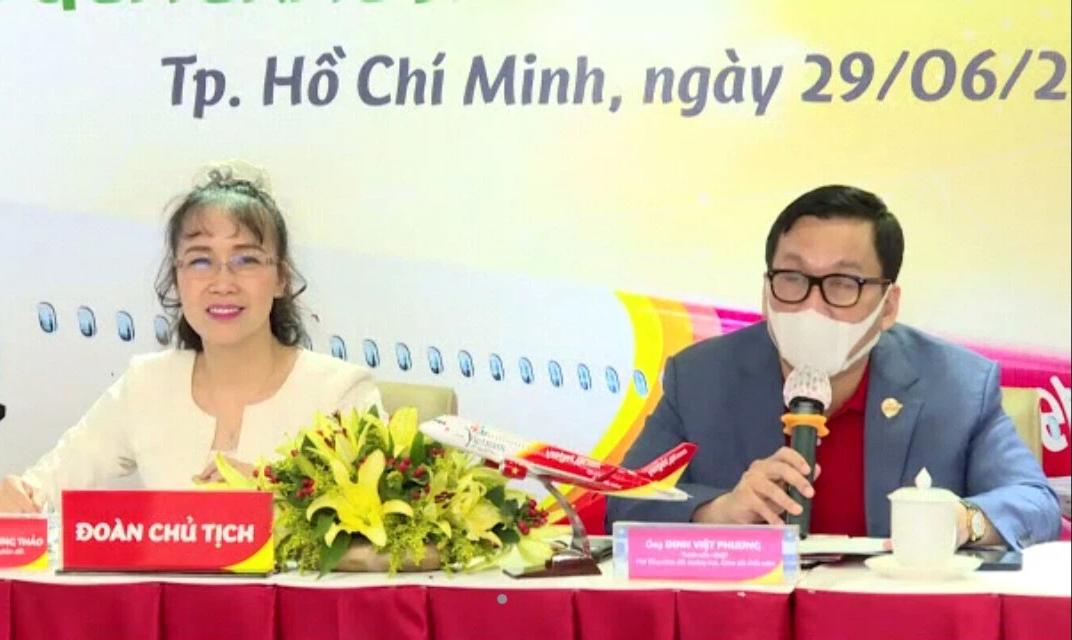 Dịch đợt 4 bất ngờ ập đến, Vietjet hạ mục tiêu kinh doanh năm 2021 - Ảnh 1.