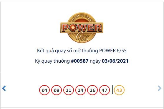 Kết quả Vietlott Power 6/55 ngày 3/6: Cả 2 giải jackpot đều có tiếng nổ mới - Ảnh 1.