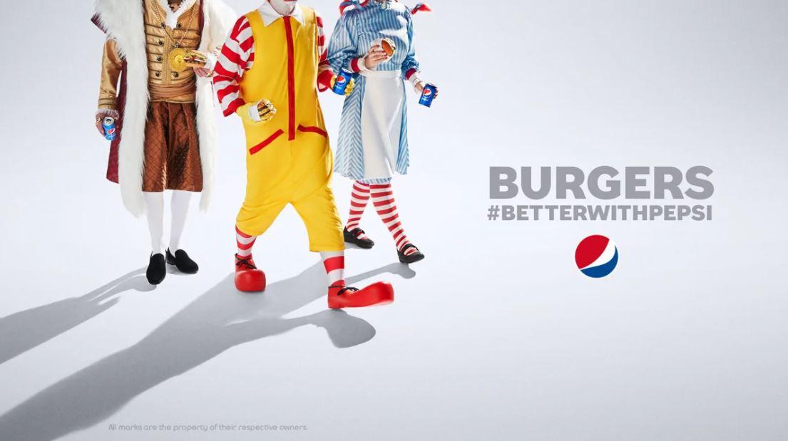 Không có trên menu, Pepsi vẫn chỉ ra đồ uống của họ hợp vị nhất với món burger hơn Coca Cola - Ảnh 2.