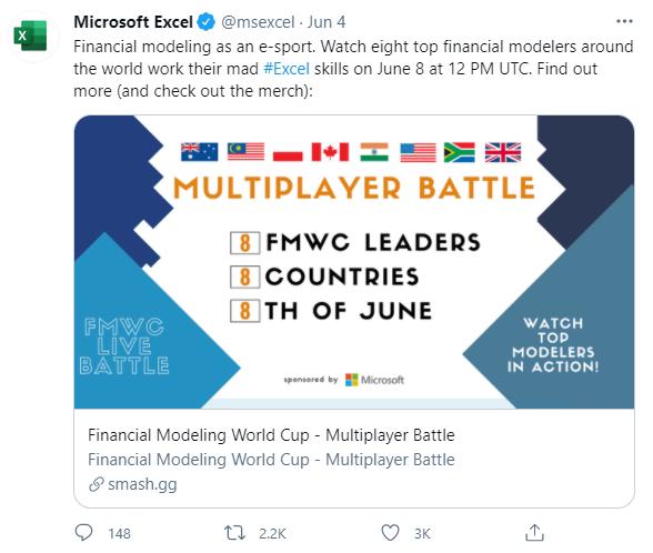 Lần đầu tiên trong lịch sử có một giải đấu eSports dành riêng cho bộ môn Microsoft Excel - Ảnh 1.