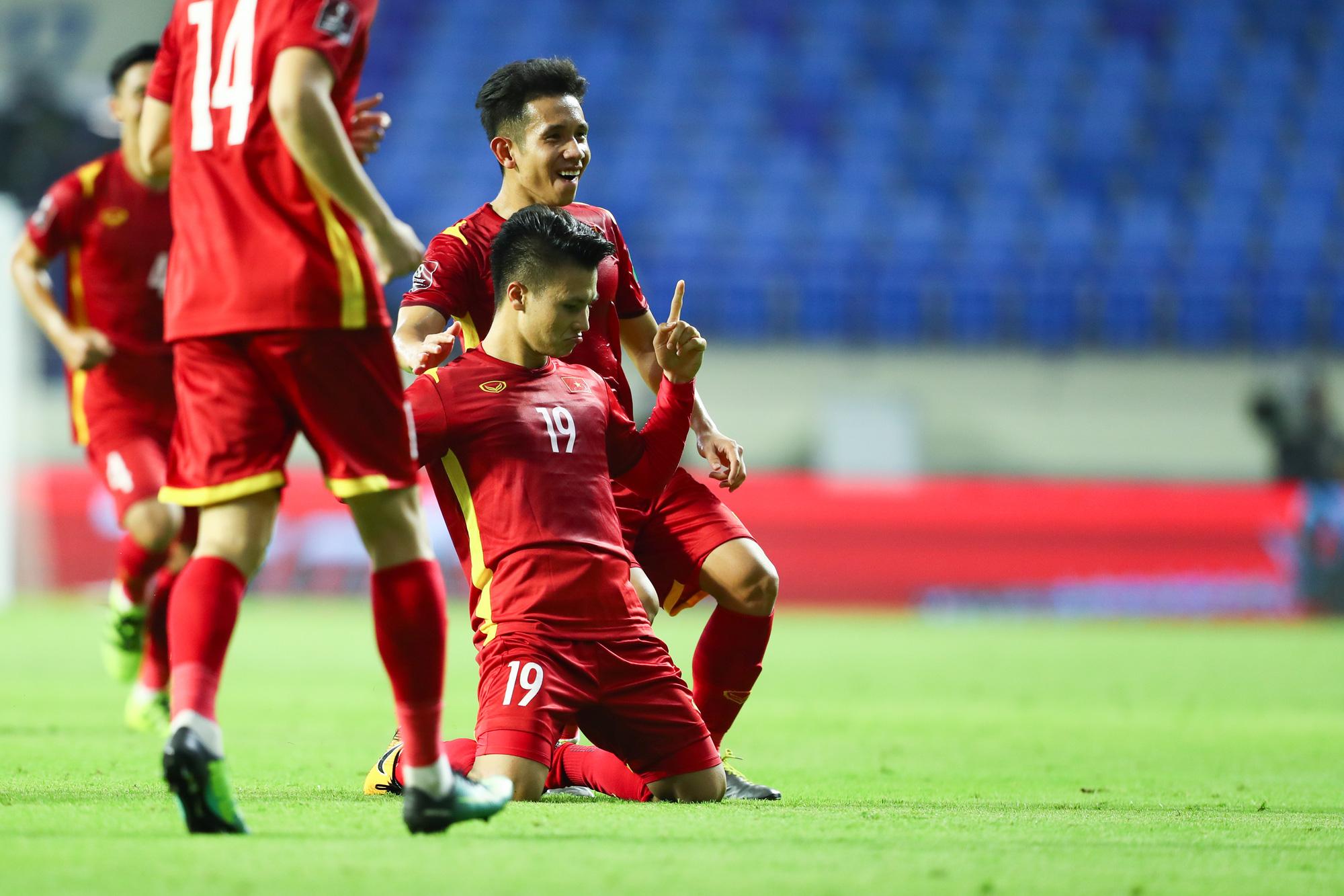 Bí quyết dinh dưỡng vàng cho trận thắng đậm đầu tiên của Đội tuyển Việt Nam tại Vòng Loại World Cup 2022 - Ảnh 1.