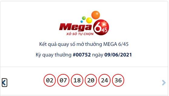 Kết quả Vietlott Mega 6/45 ngày 9/6: Jackpot giá trị hơn 29,2 tỷ đồng tìm thấy chủ - Ảnh 1.