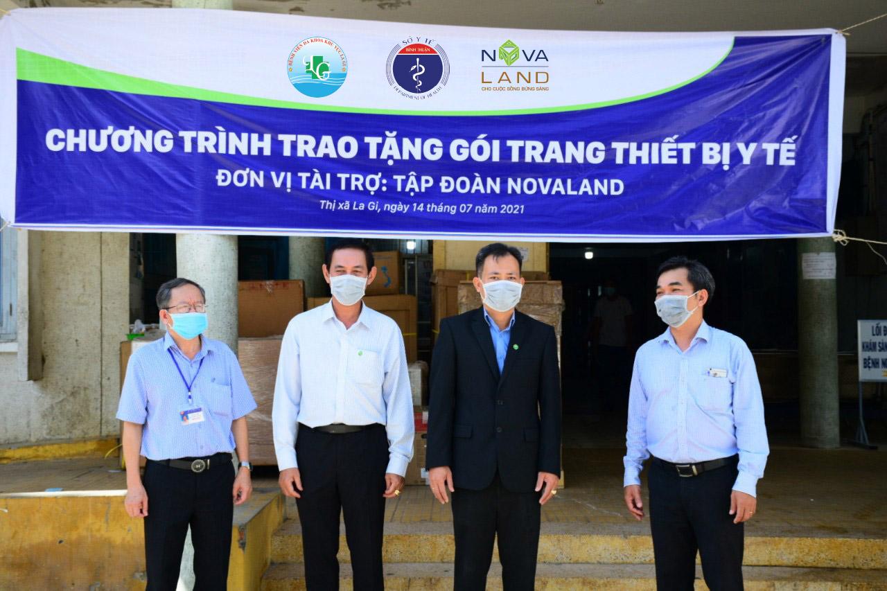 Novaland hỗ trợ trang thiết bị y tế cho Bình Thuận phòng, chống COVID-19 - Ảnh 1.