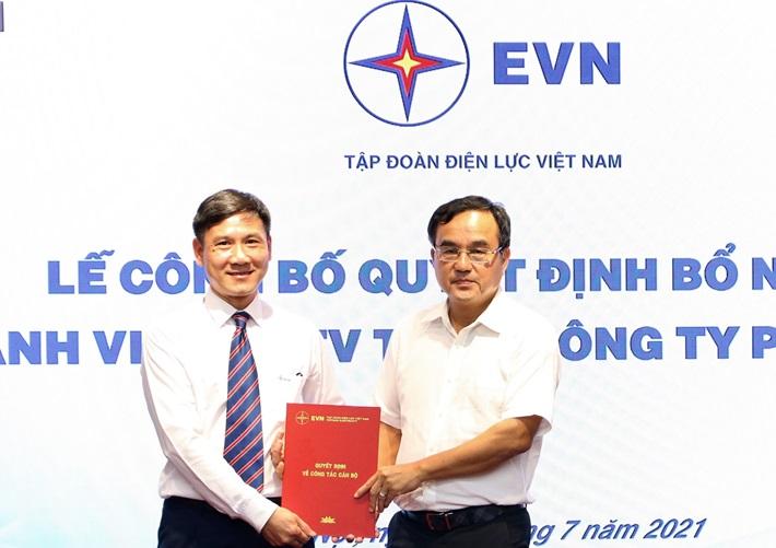 Ông Đinh Kim Cương gia nhập Hội đồng thành viên EVNGENCO 1 - Ảnh 1.