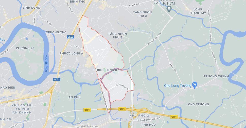Ba khu đất dính quy hoạch tại phường Phước Long B, TP Thủ Đức - Ảnh 1.