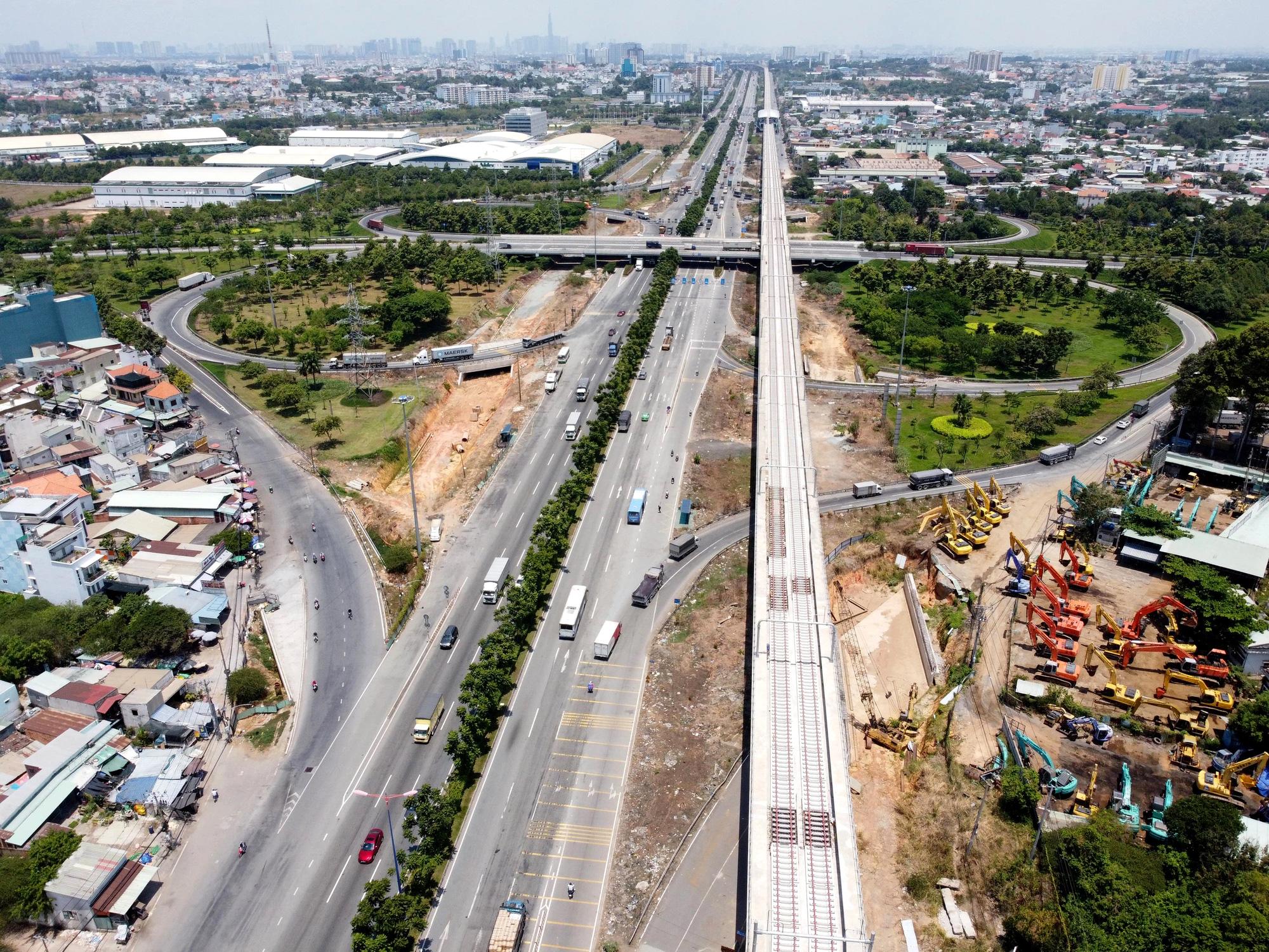 8 tuyến đường sắt đô thị của TP HCM: Metro số 1 chạy thương mại năm 2022, Metro số 2 GPMB xong trong năm nay - Ảnh 4.