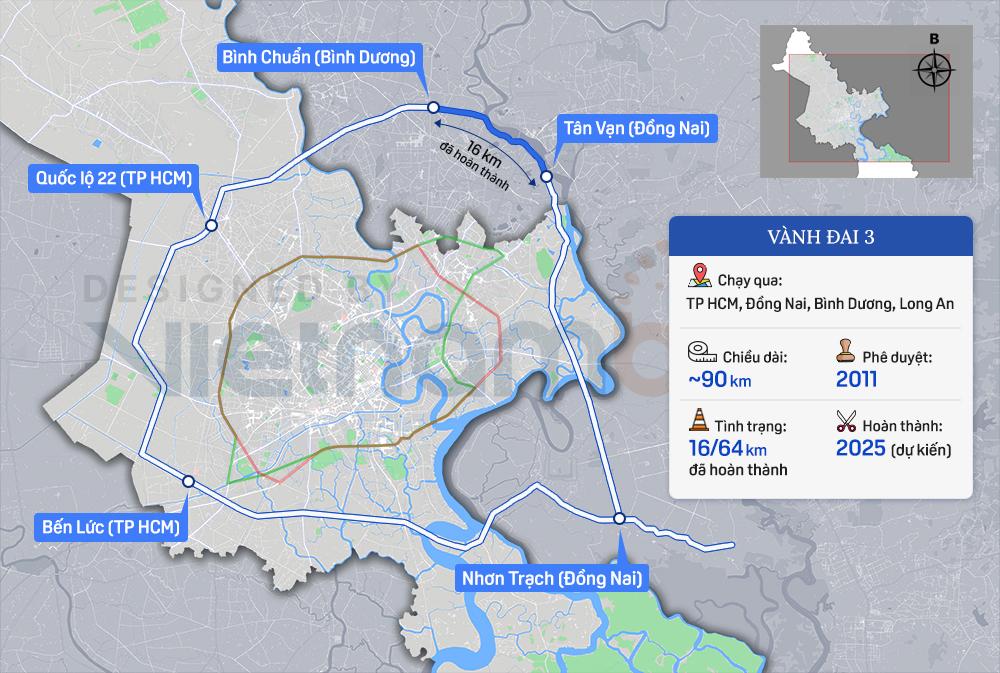 Giao UBND TP Hà Nội chuẩn bị đầu tư dự án đường Vành đai 4 dài 98 km - Ảnh 1.