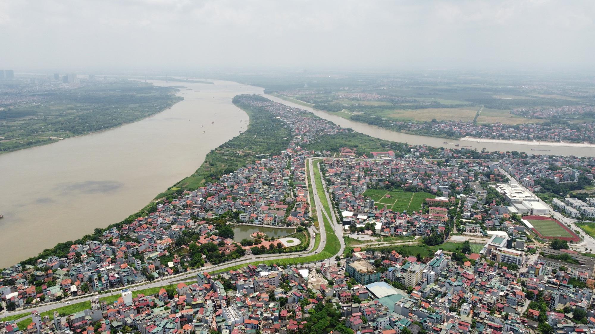 Quy hoạch phân khu đô thị sông Hồng: Di dời khu dân cư Bắc Cầu, Bồ Đề, nâng cấp đê chống lũ - Ảnh 1.