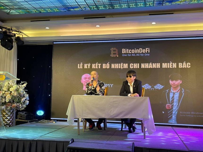 Mức lợi nhuận hoang đường của đồng tiền ảo BitcoinDefi mà 'em trai' Khá Bảnh kêu gọi đầu tư - Ảnh 1.