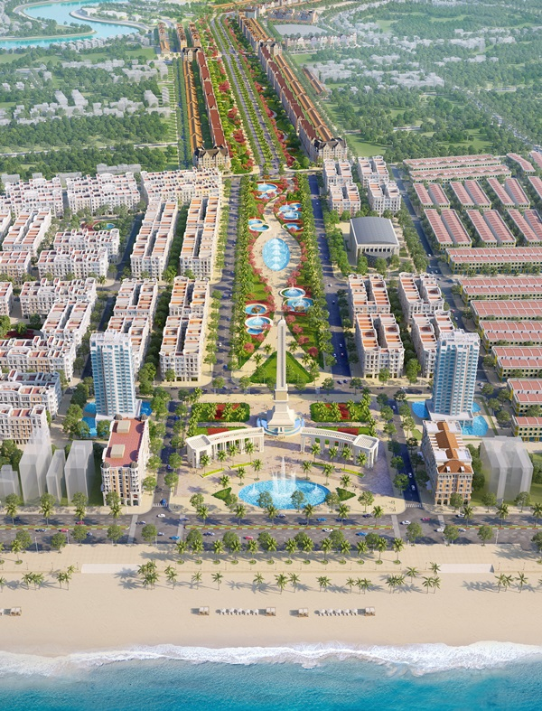 Thanh Hóa thống nhất chủ trương điều chỉnh quy hoạch 1/500 dự án của Sun Group - Ảnh 1.