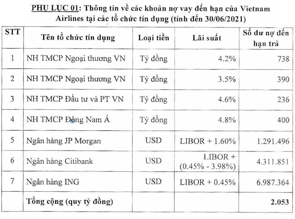Vietnam Airlines sắp trả nợ gần 1.400 tỷ đồng cho Vietcombank, BIDV - Ảnh 4.