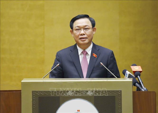 Trao quyết định, nghị quyết về công tác tổ chức của Quốc hội - Ảnh 2.