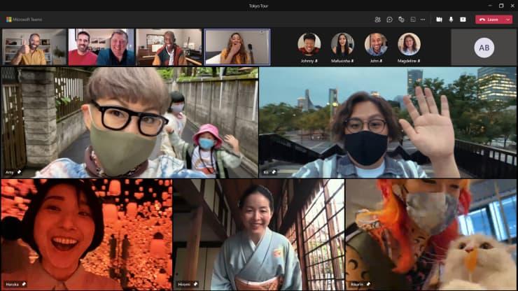Microsoft Teams mang trải nghiệm thực tế về Olympic Tokyo cho những người không thể tham dự vì COVID-19 - Ảnh 1.