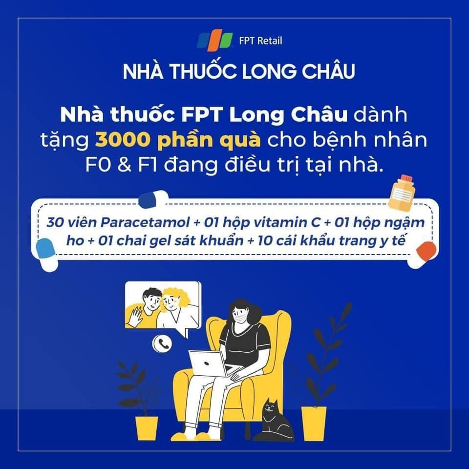Long Châu chung tay cùng cộng đồng vượt qua đại dịch COVID-19 - Ảnh 1.
