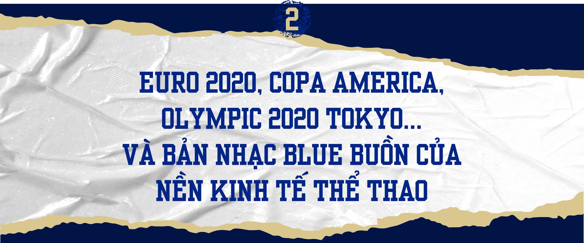 EURO 2020, COVID-19 và bản nhạc blue ảm đạm của các giải đấu thể thao - Ảnh 6.