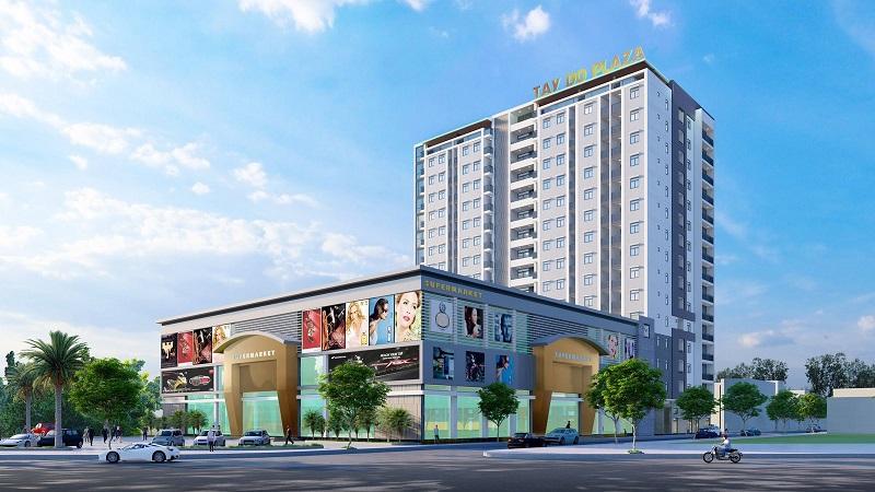 Công ty Sinh thái Tây Đô xây chung cư 16 tầng ở Hậu Giang - Ảnh 1.