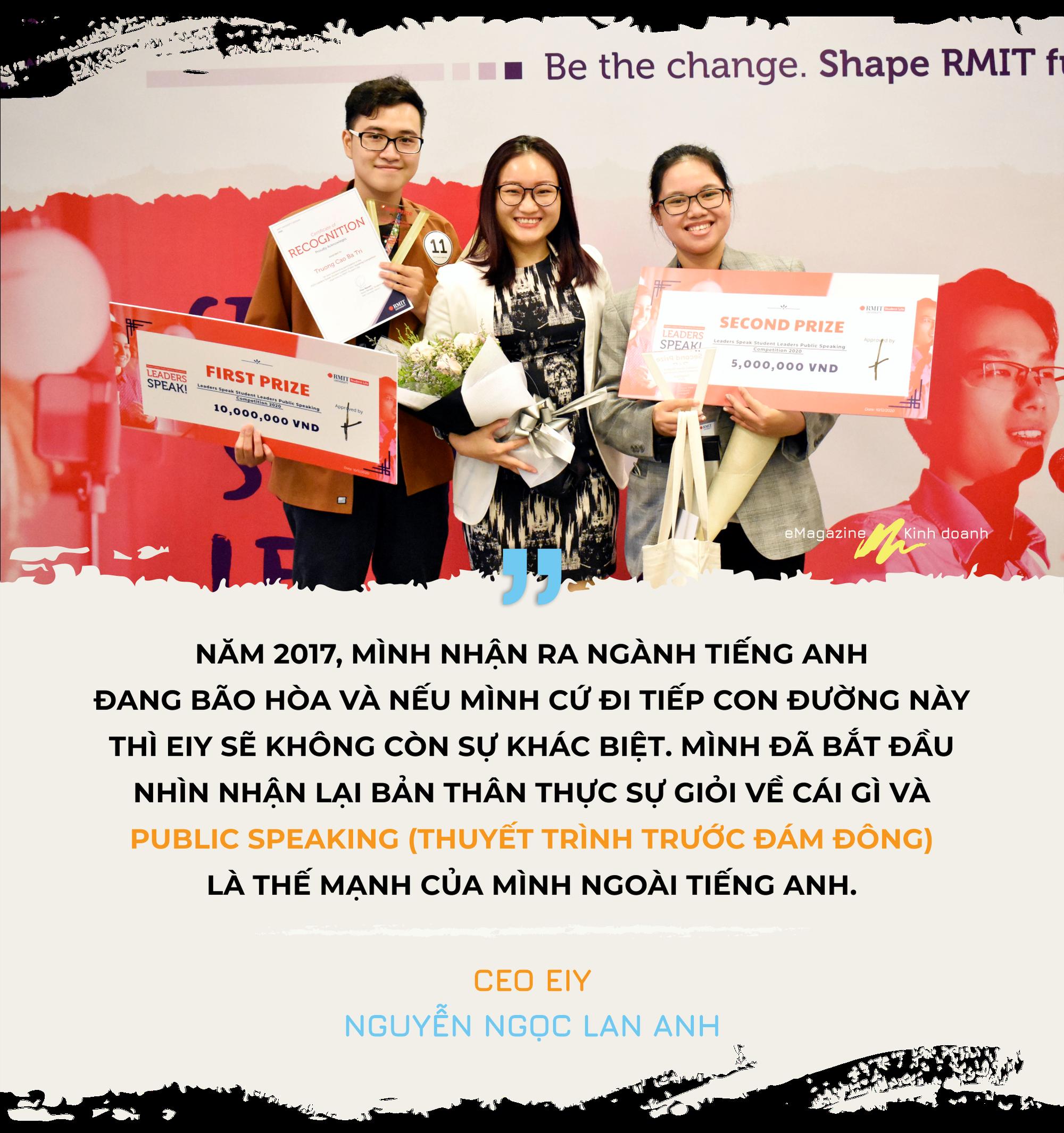 CEO EIY Nguyễn Ngọc Lan Anh và hành trình khởi nghiệp giúp người khác bung tỏa sự tự tin  - Ảnh 5.