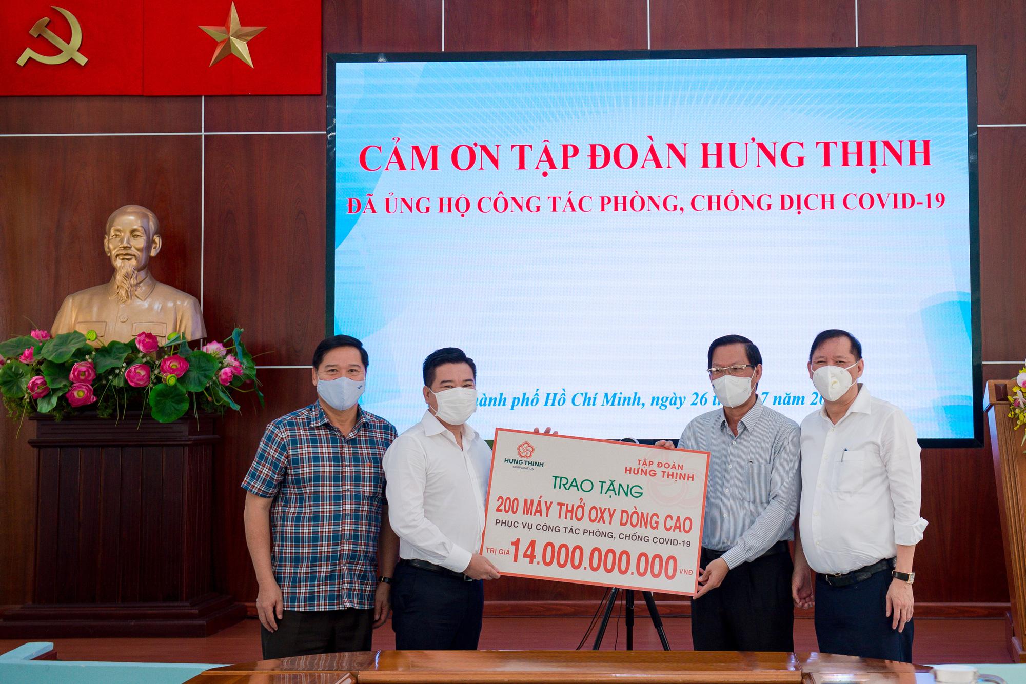 Hưng Thịnh hỗ trợ khẩn 35 tỷ choTP HCM phòng, chống dịch COVID-19 - Ảnh 1.