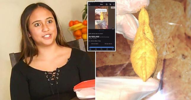 Miếng snack đặc biệt đem lại gần 340 triệu đồng cho cô bé 13 tuổi - Ảnh 1.