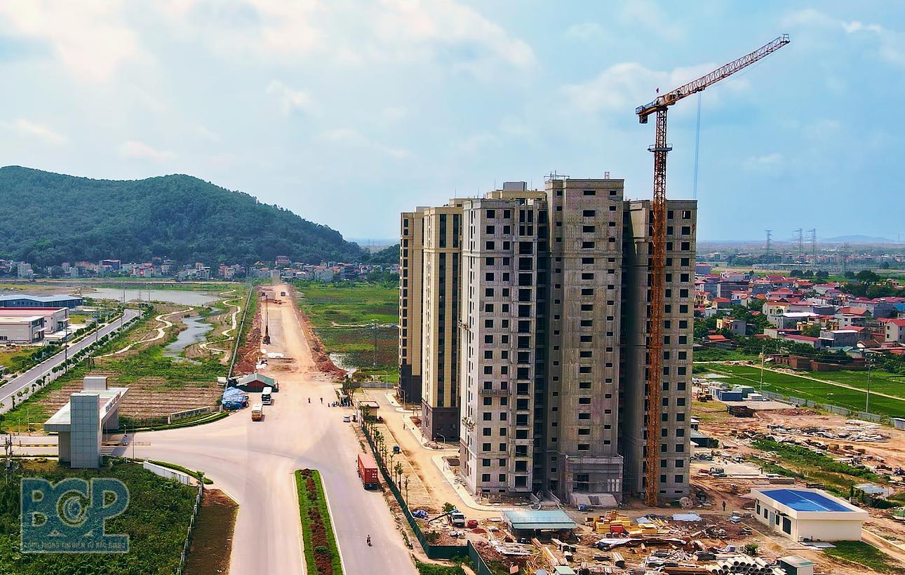 Bắc Giang sắp có thêm KĐT hơn 22 ha tại thị trấn Nếnh - Ảnh 1.