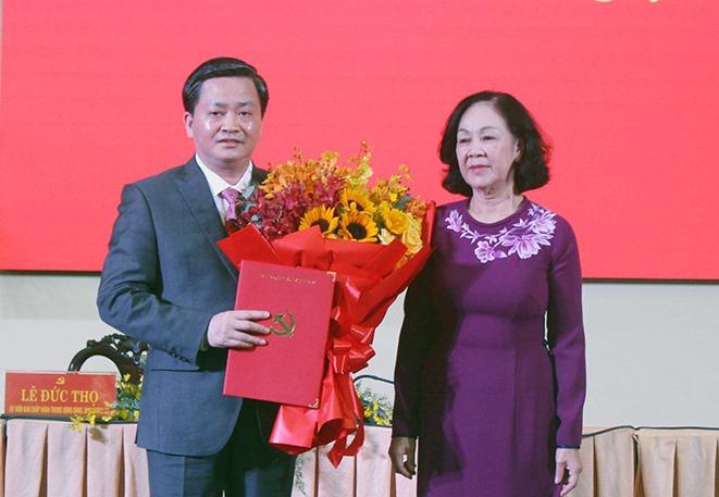 Chủ tịch VietinBank làm Bí thư tỉnh Bến Tre - Ảnh 1.