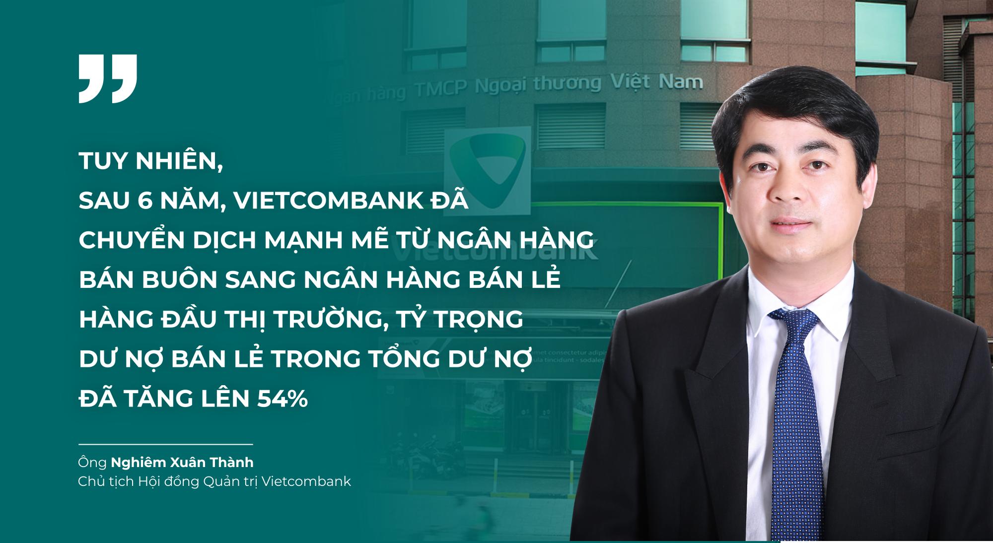 Dấu ấn của Chủ tịch Nghiêm Xuân Thành tại Vietcombank - Ảnh 1.
