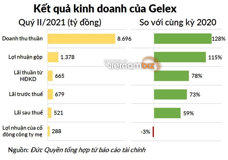 Lợi nhuận Gelex lên đỉnh mới, tài sản tăng 60% sau khi sáp nhập Viglacera - Ảnh 2.