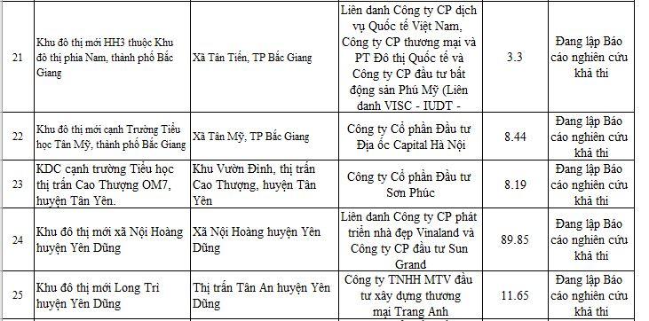28 dự án ở Bắc Giang chưa đủ điều kiện để bán - Ảnh 6.