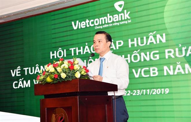 Ông Đỗ Việt Hùng được giao phụ trách Hội đồng quản trị Vietcombank - Ảnh 1.