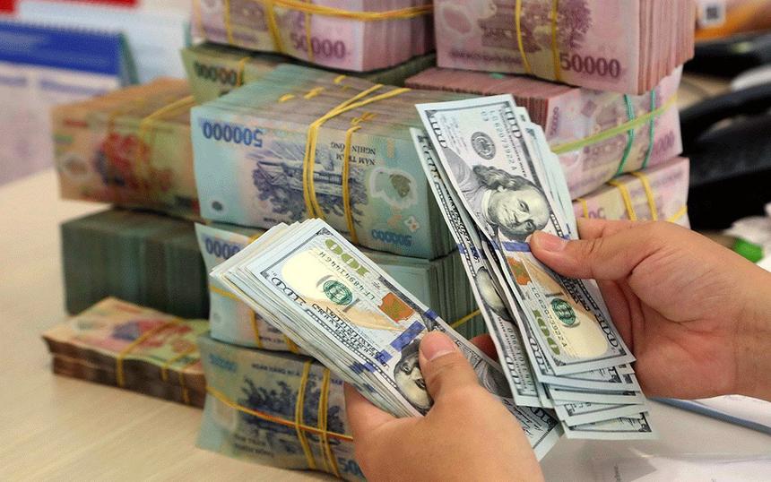 VND đã lên giá 0,4% so với USD trong 6 tháng đầu năm - Ảnh 1.