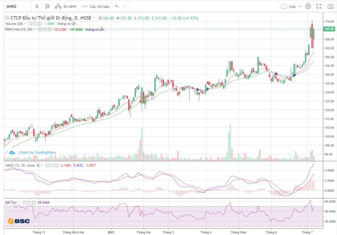 Cổ phiếu tâm điểm 8/7: VHM, MWG, NTL - Ảnh 2.