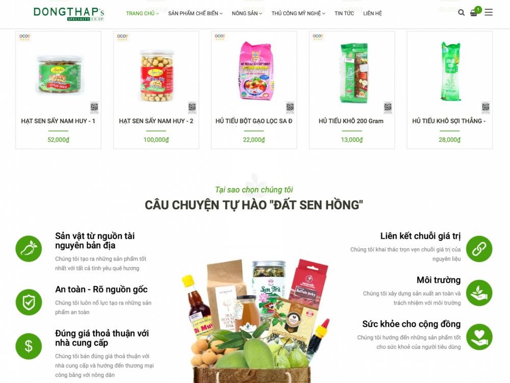 Đồng Tháp hỗ trợ doanh nghiệp tiêu thụ nông sản trên nền tảng số - Ảnh 1.