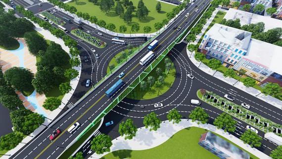 Cầu vượt đường 2 tháng 9 Đà Nẵng thành hình sau 15 tháng thi công - Ảnh 1.