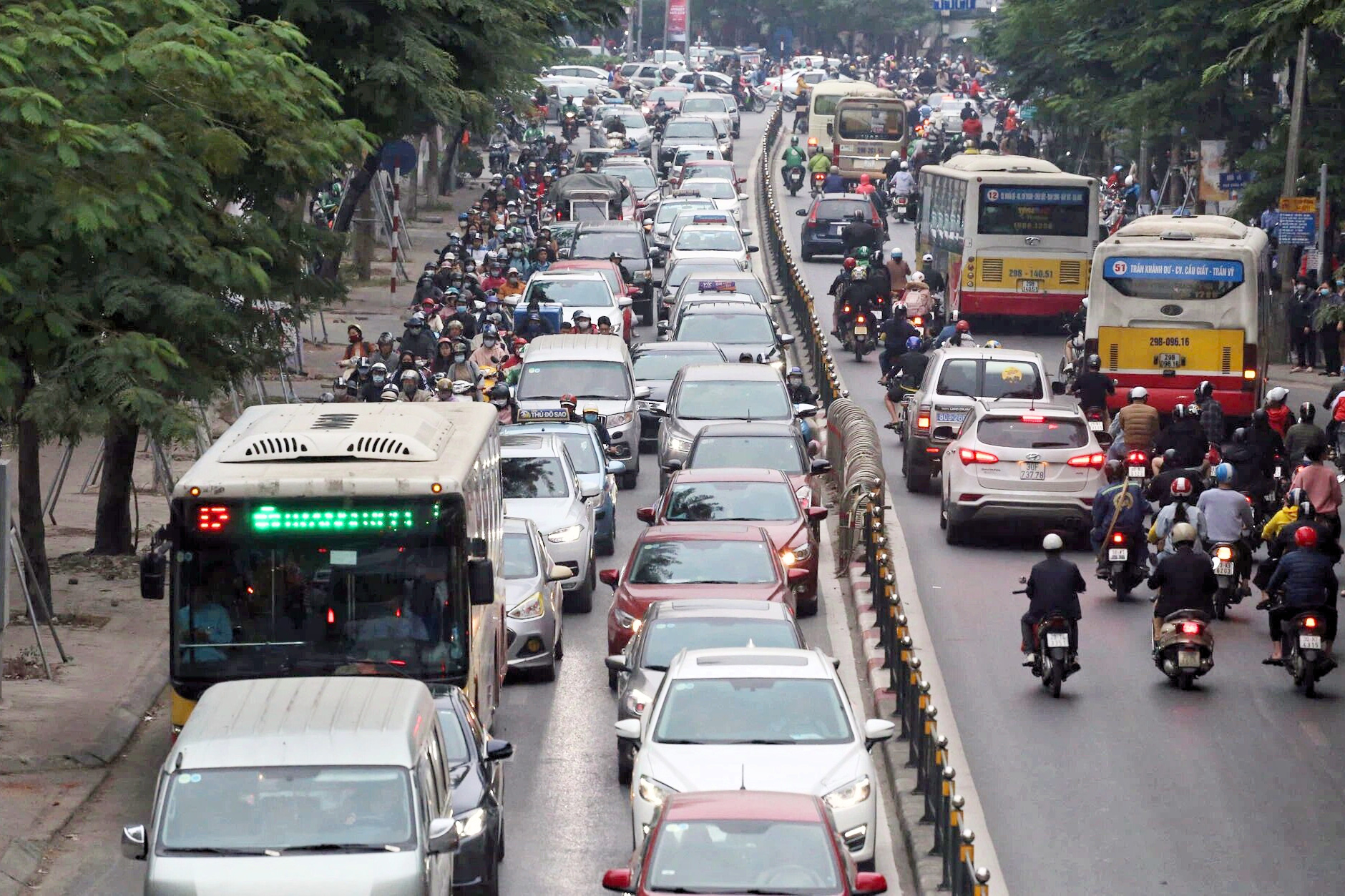 Hà Nội chuẩn bị mở rộng phố Chùa Bộc, giá đất bồi thường hơn 47 triệu đồng/m2