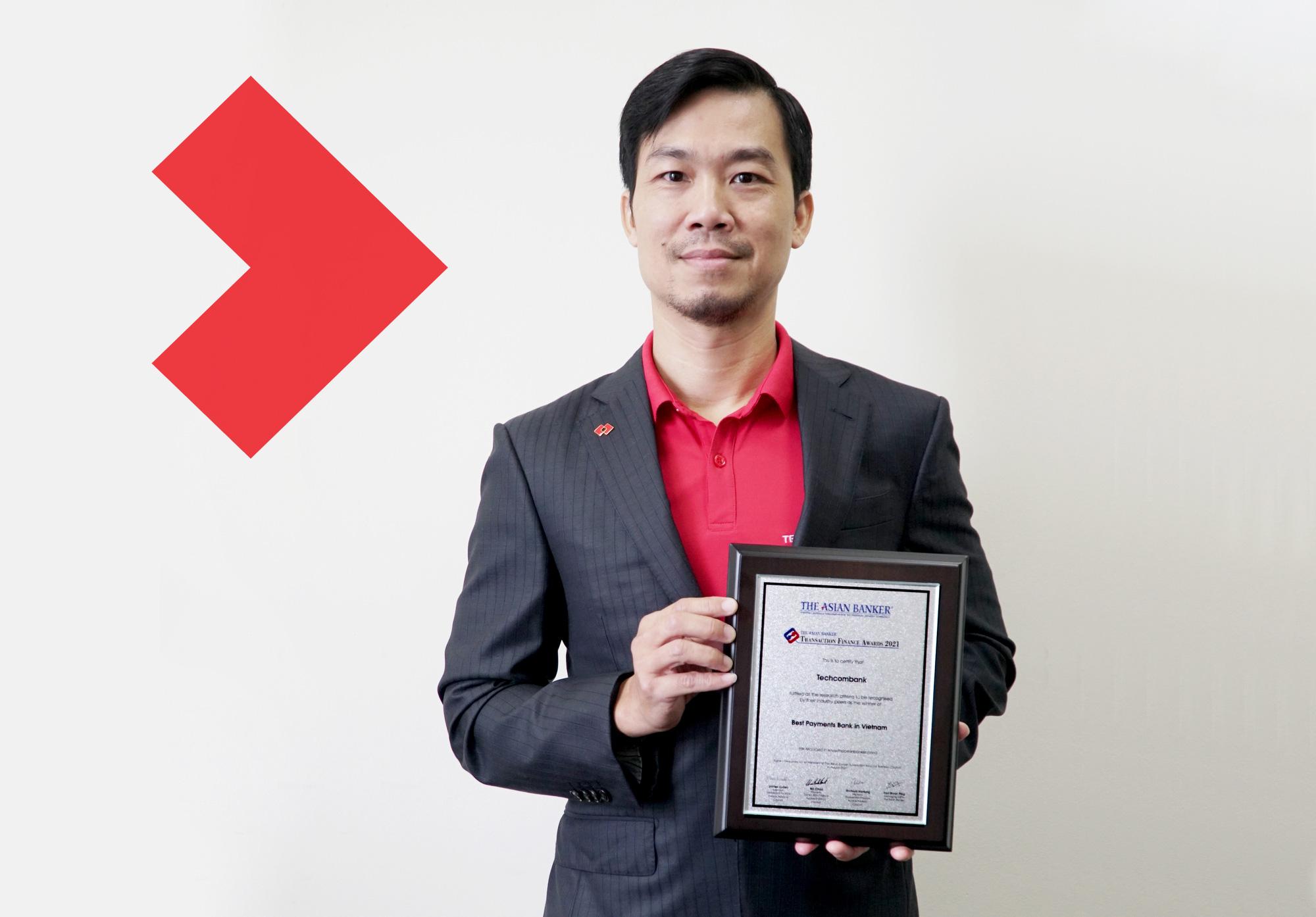 The Asian Banker vinh danh Techcombank với hai giải thưởng 'Ngân hàng thanh toán tốt nhất' và 'Ngân hàng được yêu thích nhất' tại Việt Nam - Ảnh 1.