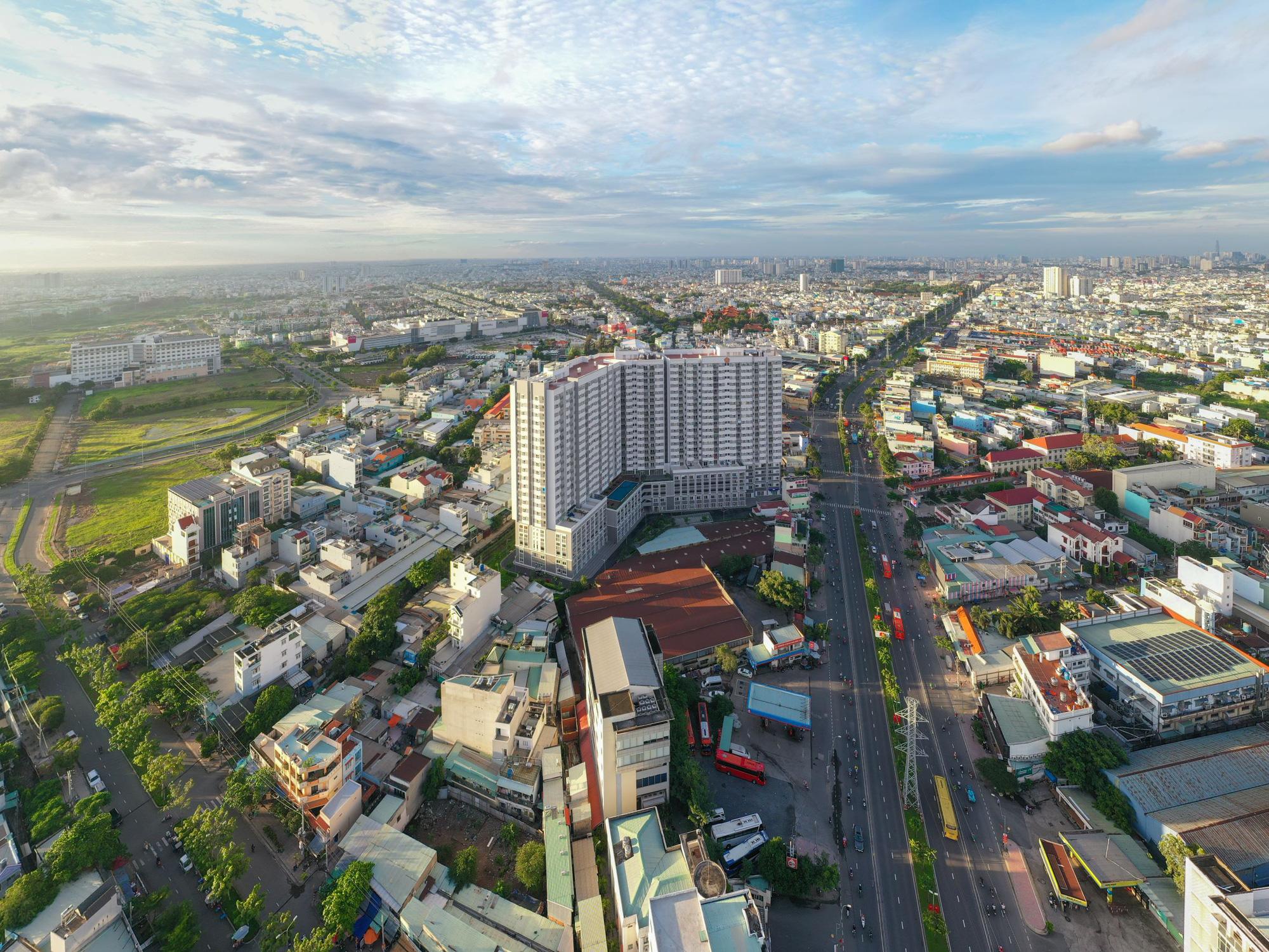 Thêm một dự án của căn hộ tầm trung của Hưng Thịnh tại TP HCM - Ảnh 1.