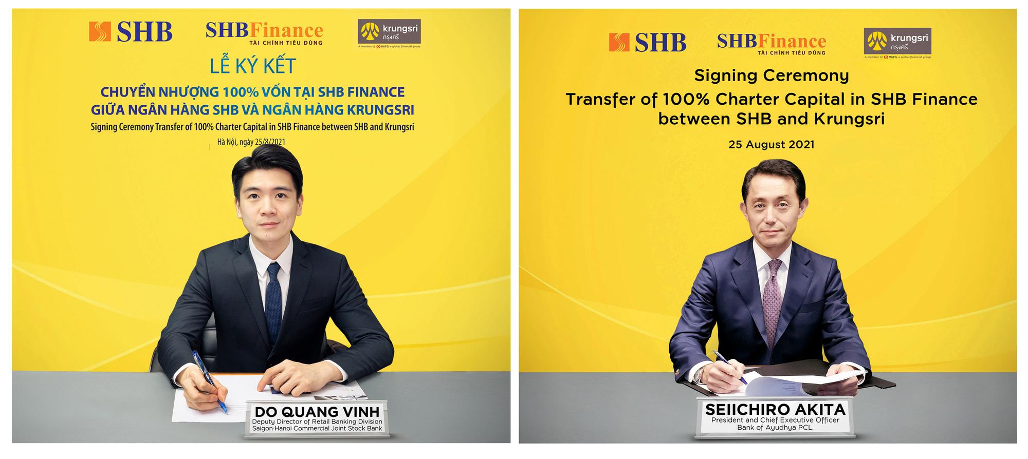 SHB chuyển nhượng 100% vốn công ty tài chính cho ngân hàng Thái Lan - Ảnh 1.