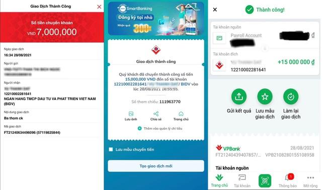Lập tài khoản Zalo, đăng ký tài khoản ngân hàng trùng tên để lừa tiền - Ảnh 2.