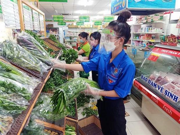 Dịch COVID-19: Giải quyết 'điểm nghẽn' cung ứng, tiêu thụ nông sản, thực phẩm cho TP HCM - Ảnh 1.