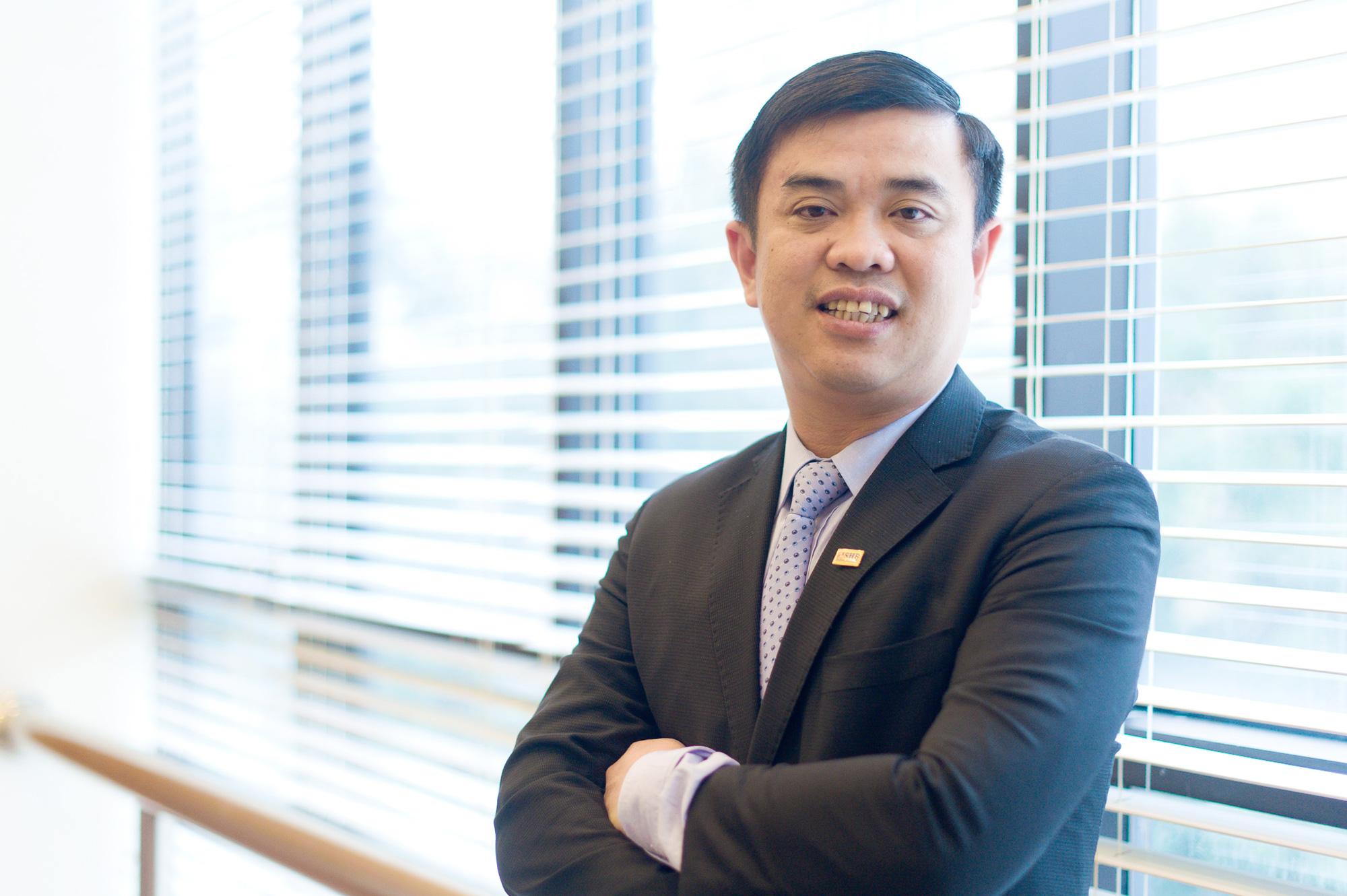 Ông Nguyễn Văn Lê thôi làm Tổng Giám đốc SHB - Ảnh 1.