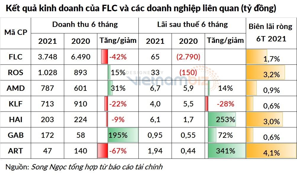 Doanh nghiệp họ FLC báo lãi nửa đầu năm 2021 tăng vọt - Ảnh 3.