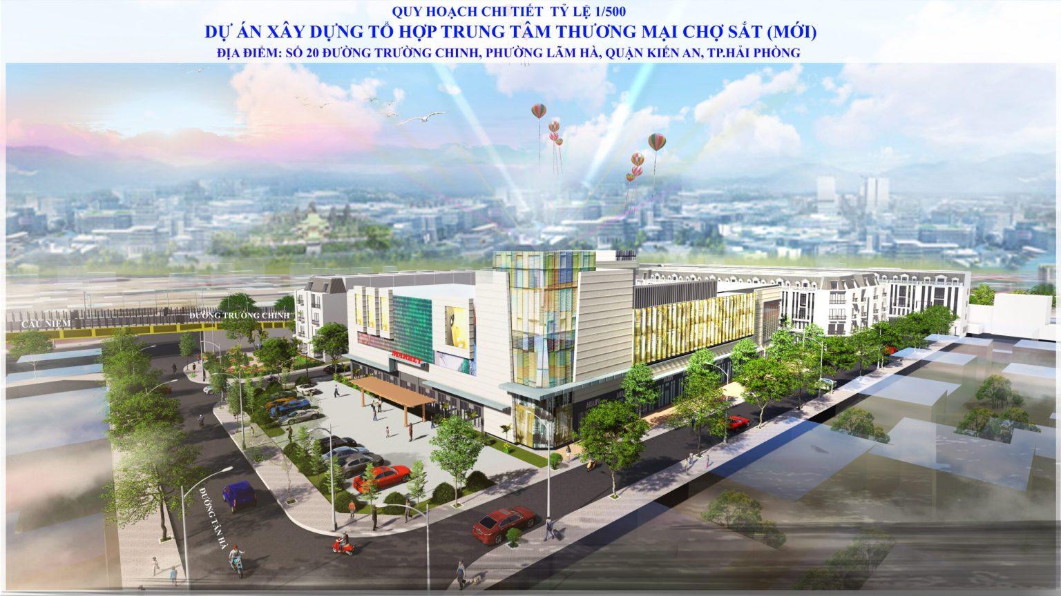 Hải Phòng gọi đầu tư tổ hợp TTTM, khách sạn gần 6.000 tỷ đồng tại chợ Sắt - Ảnh 1.