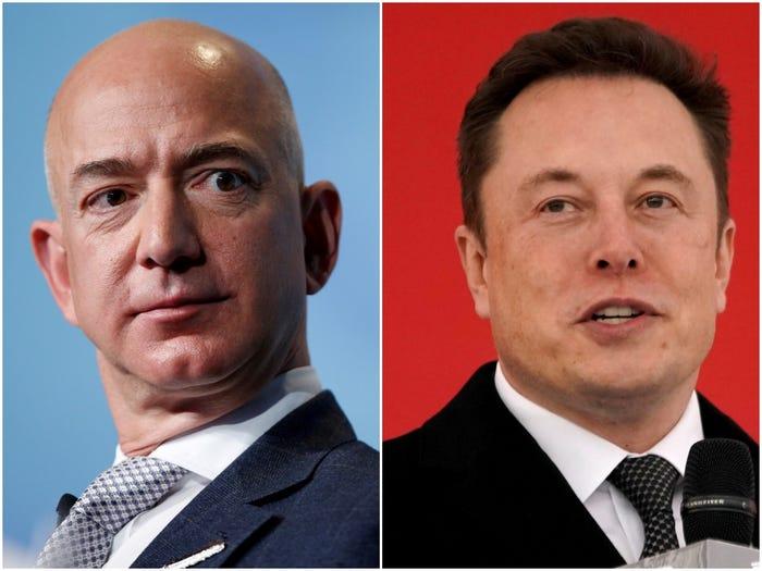 Jeff Bezos - Elon Musk: 'Cuộc chiến giữa các vì sao' - Ảnh 2.