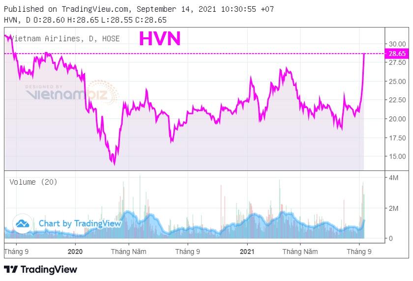 HVN quay lại giá trước dịch, nhiều cổ đông Vietnam Airlines đã 'về bờ' - Ảnh 1.