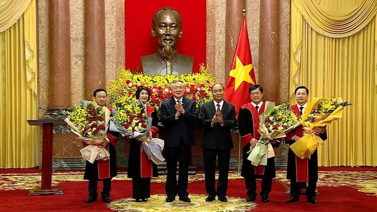 Chủ tịch nước bổ nhiệm thêm 4 Thẩm phán TAND Tối cao - Ảnh 1.
