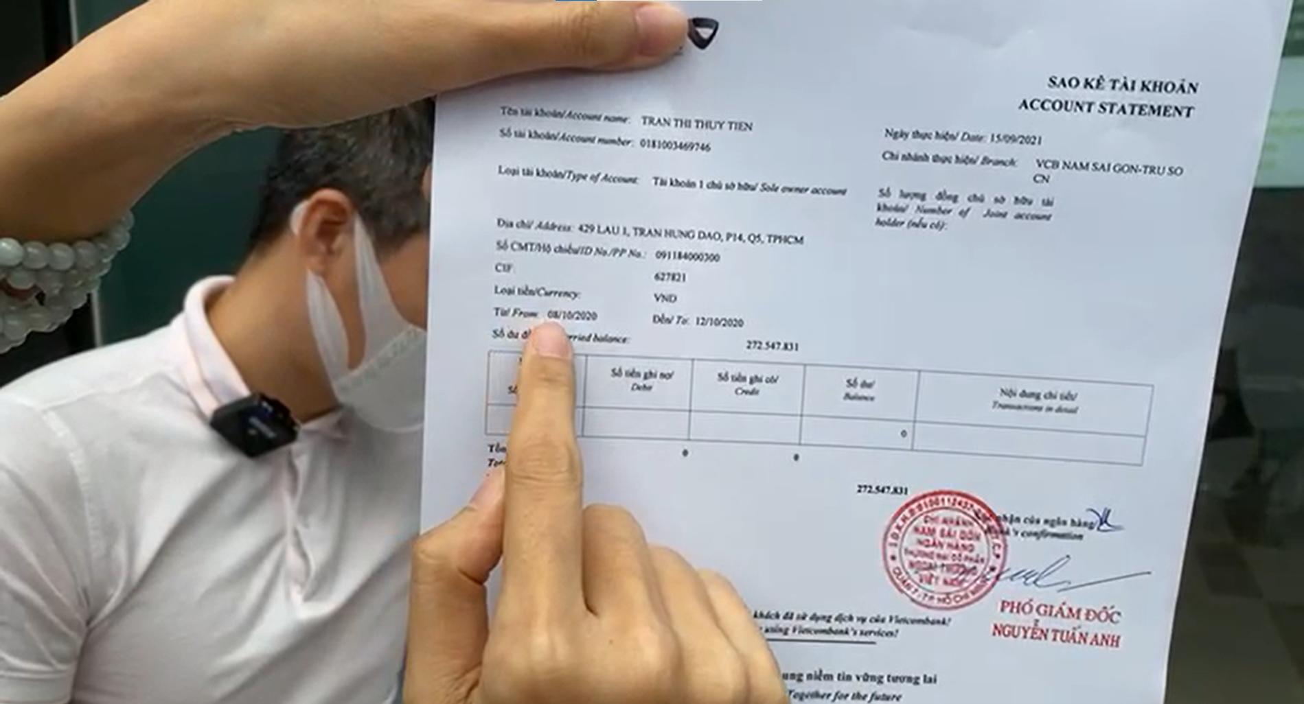 Công Vinh - Thủy Tiên livestream công bố 18.000 trang sao kê 177 tỷ đồng quyên góp ủng hộ đồng bào miền Trung - Ảnh 1.