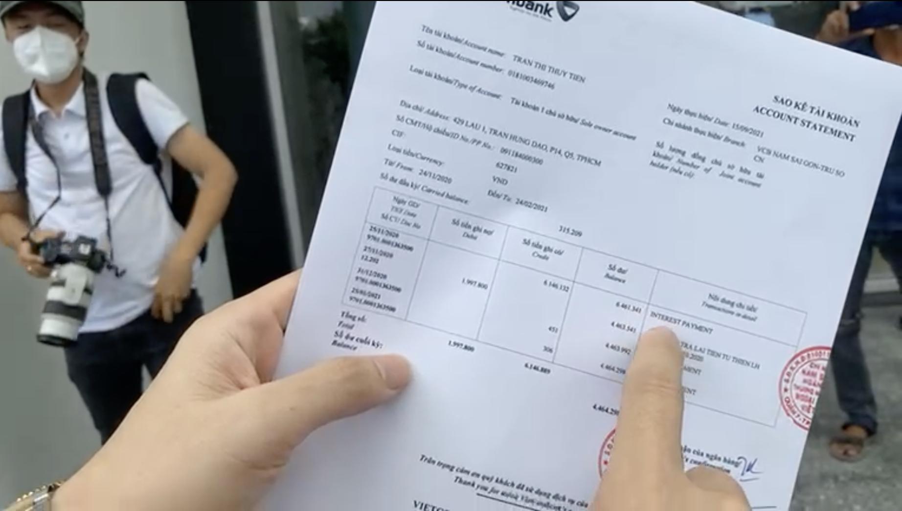 18.000 trang sao kê của Thuỷ Tiên giải mã nhiều điểm nghi vấn, có tài khoản chuyển nhầm địa chỉ - Ảnh 3.