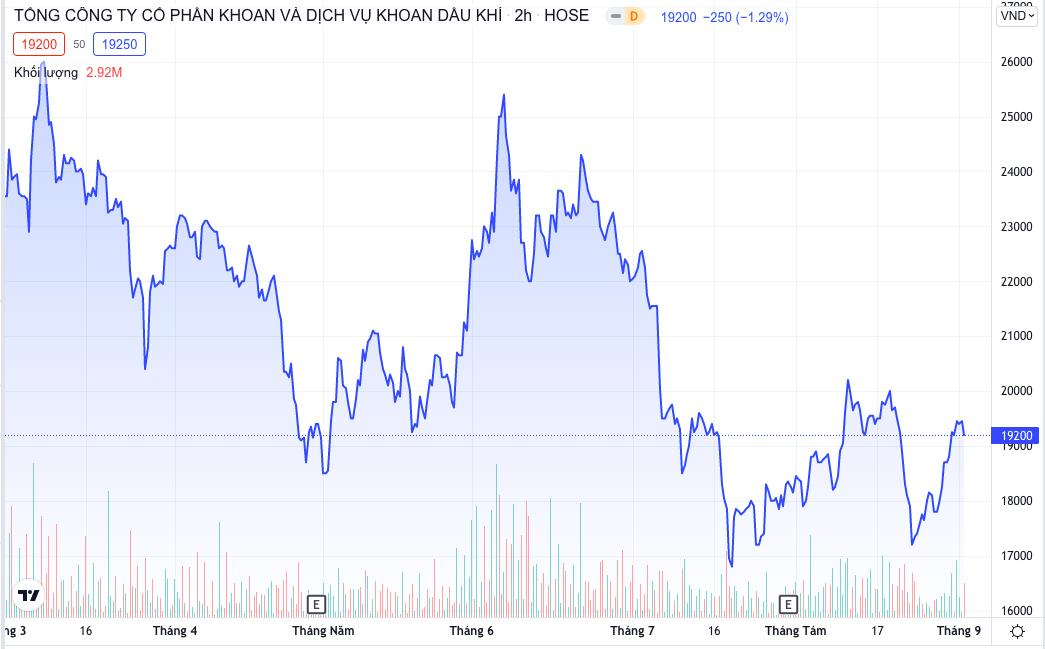 Cổ phiếu PVD bị cắt margin - Ảnh 1.